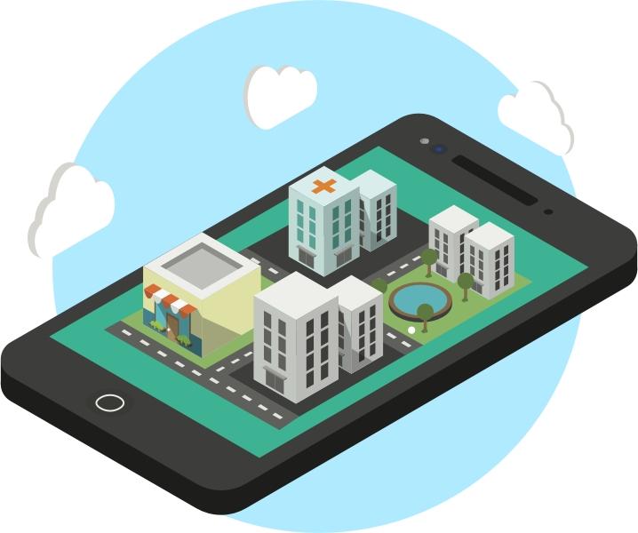 Chytré město s aplikací CityApp